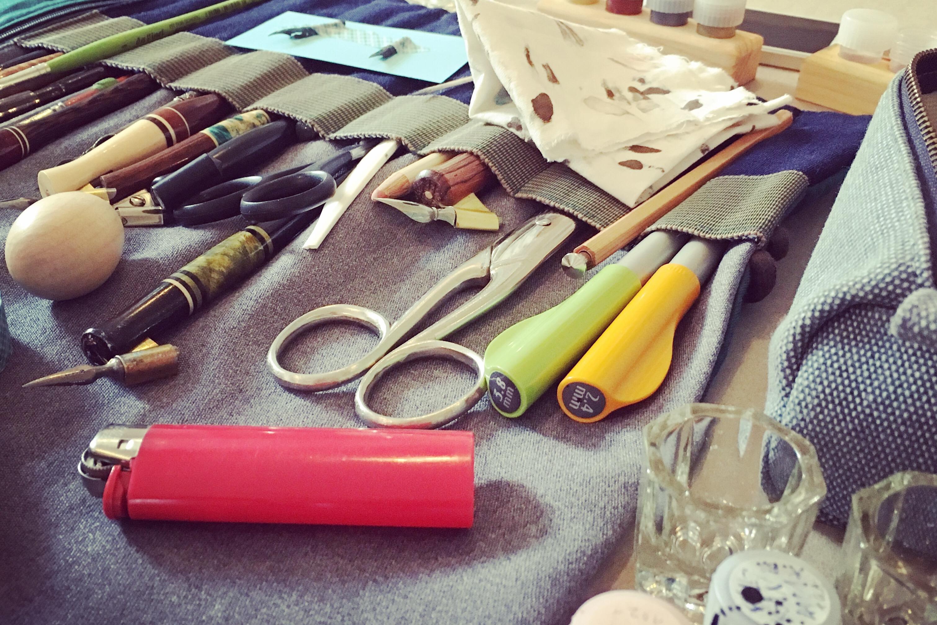 Calligraphy Tools von Stefanie Weigele